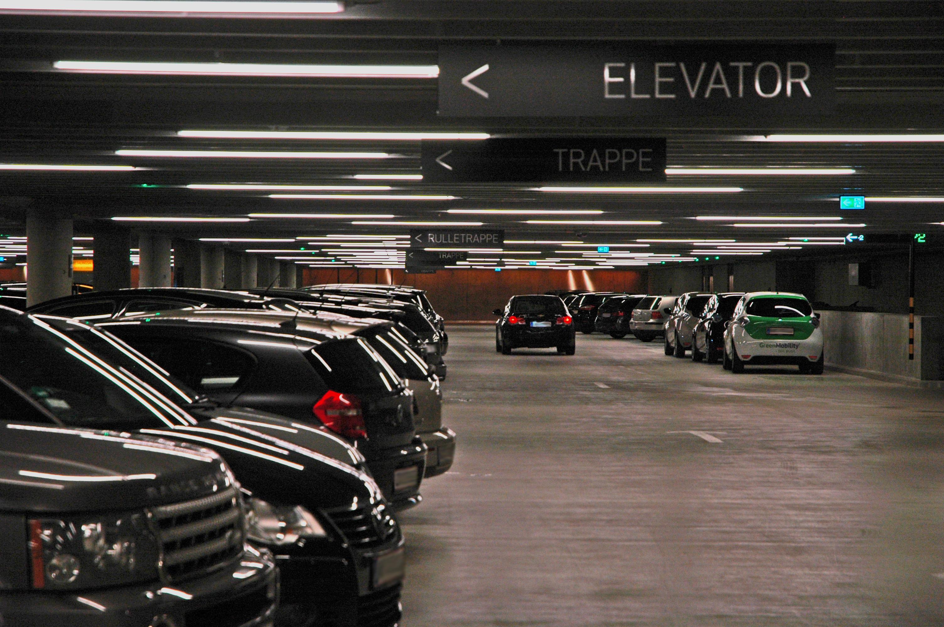 Kvæsthuspladsens underjordiske parkeringsanlæg med CTS anlæg fra Controel ApS.
